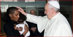meriam meets pope