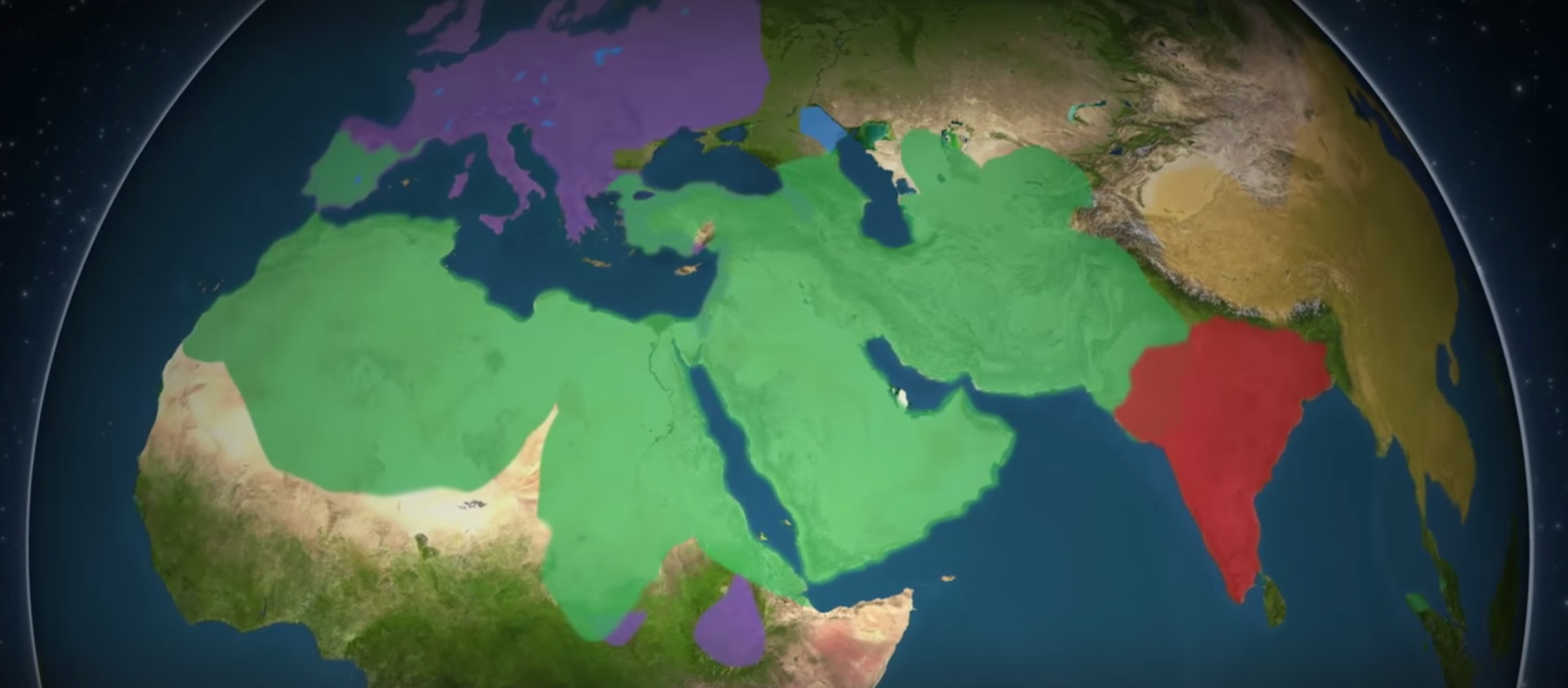 an analysis of religious spread through conquest The muslim community spread through the middle east through conquest, and the resulting growth of the muslim state provided the ground in which the recently revealed faith could take root and flourish the military conquest was inspired by religion, but it was also motivated by greed and politics.
