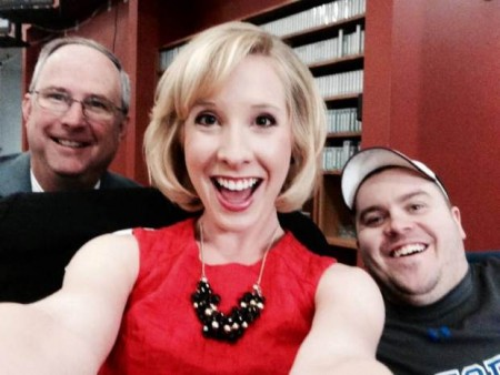 Alison Parker - with adam  ward RIGHT --....A gunman killed a reporter and videographer for a CBS affiliate in Virginia during a live broadcast Wednesday morning. ....Reporter Alison Parker and cameraman Adam Ward died in the shooting, Ms. Parker¿s mother confirmed to CBS news. They were reporting for CBS Roanoke affiliate WDBJ-TV.