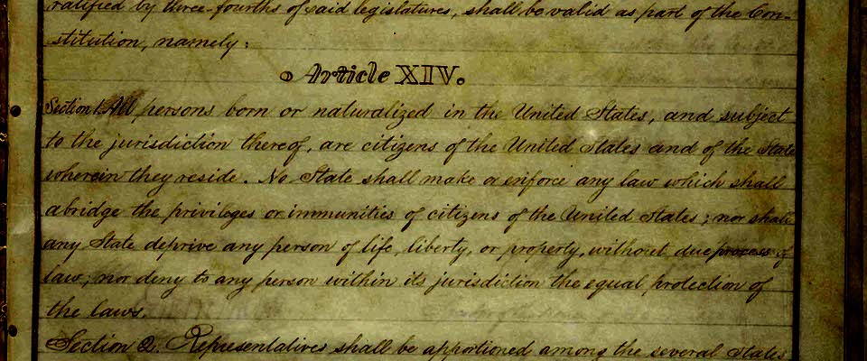 14th Amendment page1