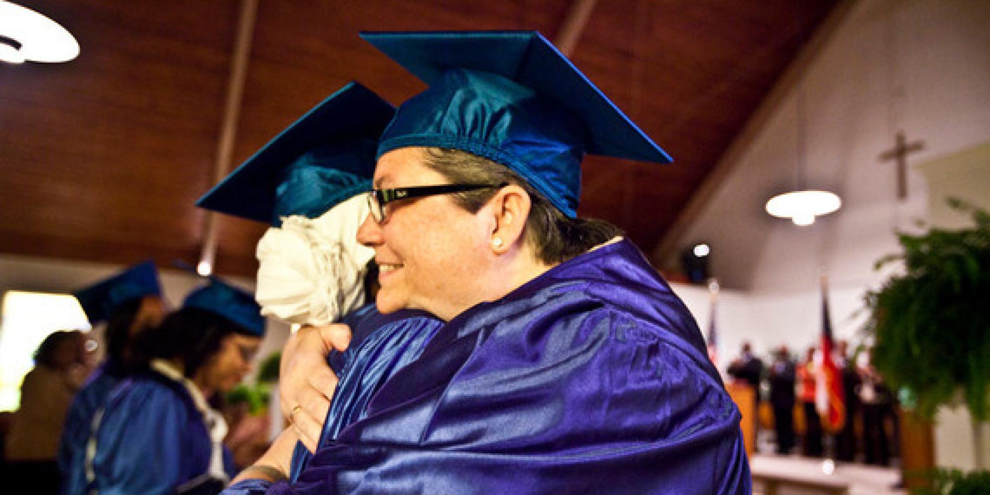0102801-11AB Graduation ceremony at Arrendale State Prison