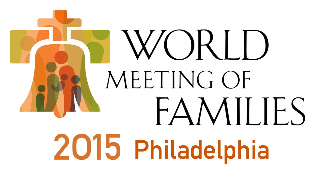 This is the logo for the eighth World Meeting of Families. The international gathering, inaugurated by Blessed John Paul II in 1994, will be held in late September in 2015 in Philadelphia. (CNS/courtesy of Archdiocese of Philadelphia) (Feb. 26, 2013) See FAMILIES-PHILADELPHIA Feb. 26, 2013.