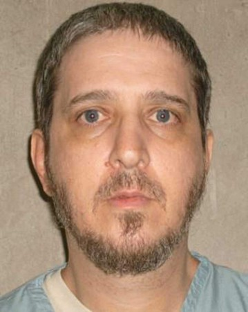"""This Oklahoma Department of Corrections handout photo obtained September 16, 2015 shows death row inmate Richard E. Glossip. Advocates for a US man whose execution is scheduled for September 16 -- among them actress Susan Sarandon and billionaire Richard Branson -- are mobilized in a last-ditch effort to obtain a stay. Richard Glossip, 52, faces lethal injection over the 1997 fatal beating of a motel owner, but has maintained his innocence for nearly 20 years. He and two other plaintiffs unsuccessfully took their cases before the US Supreme Court, demanding a ban on a controversial drug used in lethal injections. But the Supreme Court upheld the use of the drug midazolam in June, saying it does not violate the US Constitution.  AFP PHOTO / HANDOUT / OKLAHOMA DEPARTMENT OF CORRECTIONS           == RESTRICTED TO EDITORIAL USE / MANDATORY CREDIT: """"AFP PHOTO / HANDOUT / OKLAHOMA DEPARTMENT OF CORRECTIONS """"/ NO MARKETING / NO ADVERTISING CAMPAIGNS / DISTRIBUTED AS A SERVICE TO CLIENTS ==-/AFP/Getty Images"""