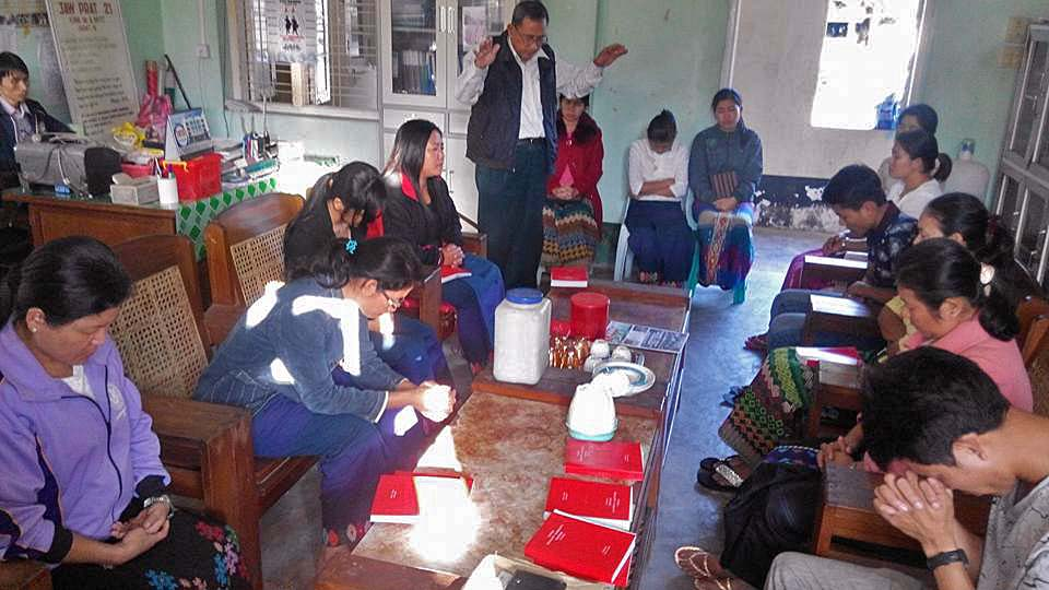 Prayer-for-displaced-ethnic-Kachin-at-the-Kachin-Baptist-Convention's-office-in-Myitkyina-Kachin-state-capital.-Kachin-Baptist-Convention