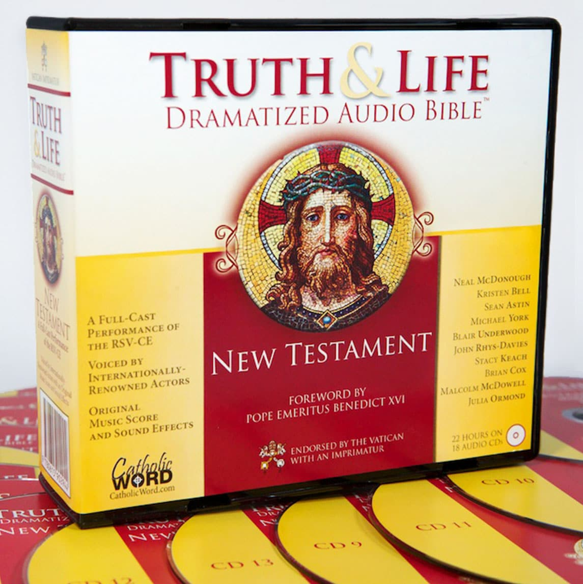 Truth and Life Dramatized Audio Bible : New Testament by Zondervan Staff 18 DISC