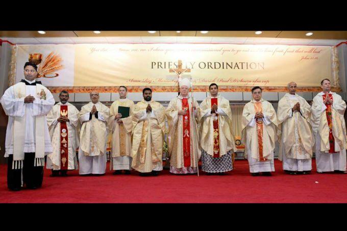 Bishop_Paul_Hinder_at_the_priestly_ordination_of_deacons_Arun_Raj_Manuel_and_Darek_Paul_DSouza_in_Abu_Dabhi_Jan_8_2016_Credit_AVOSA_CNA_1_15_16