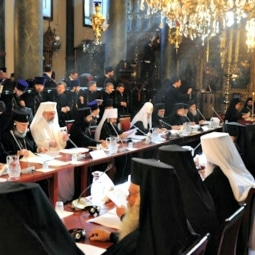 The Synaxis of the Primates of the Orthodox Church concluded Jan. 28 in Switzerland. – Courtesy of the Orthodox Christian Network   Read more: https://www.ncregister.com/daily-news/the-pope-the-patriarch-and-the-pan-orthodox-council/#ixzz3zzbVd6cn
