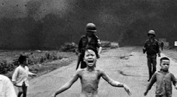 The Amazing Testimony of Vietnam War's Iconic 'Napalm Girl' - Ave Maria Radio : Ave Maria Radio