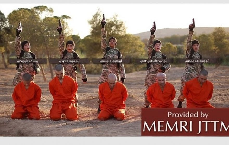 "The children exclaim ""Allah Akbar!"" before dispatching their victims. (MEMRI)"