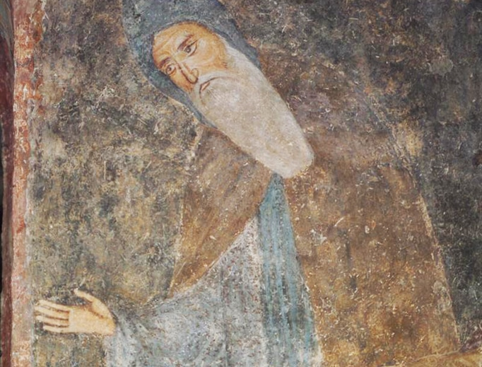 Fresco from Sopoćani monastery, Serbia (late 13th century), via Wikimedia Commons