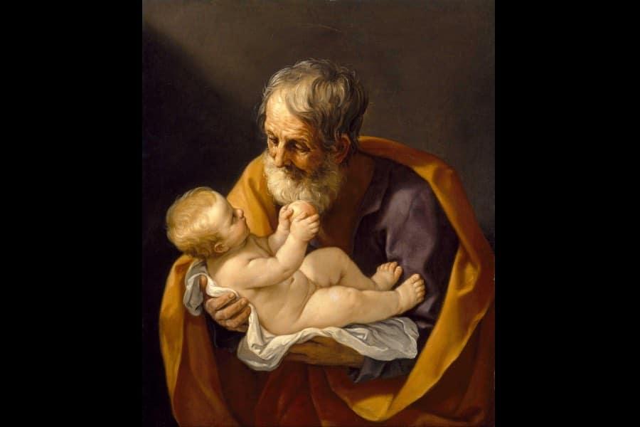 Guido Reni (1575-1642), St. Joseph and the Christ Child