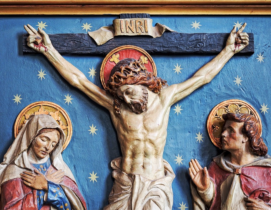 Was Jesus Crucified Naked? - Ave Maria Radio : Ave Maria Radio