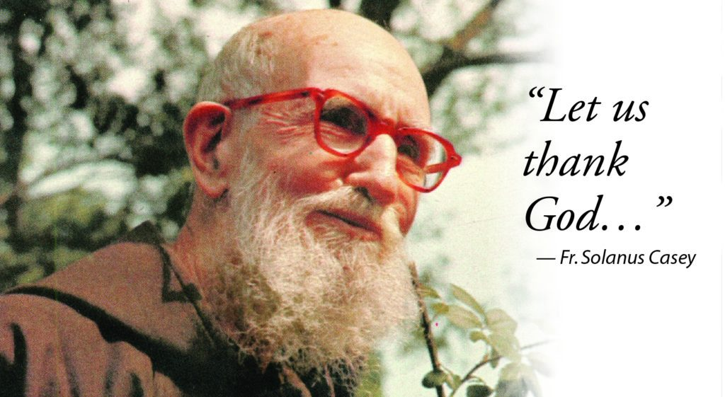 the impact father solanus casey had on the lives of many people Kaukab denha of troy, mich, prays at the solanus casey center in detroit after pope francis announced the beatification of father solanus casey.