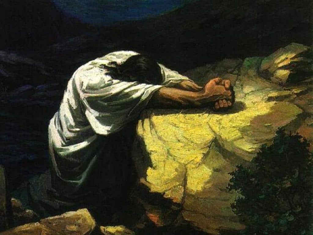 Image result for prayer in the garden